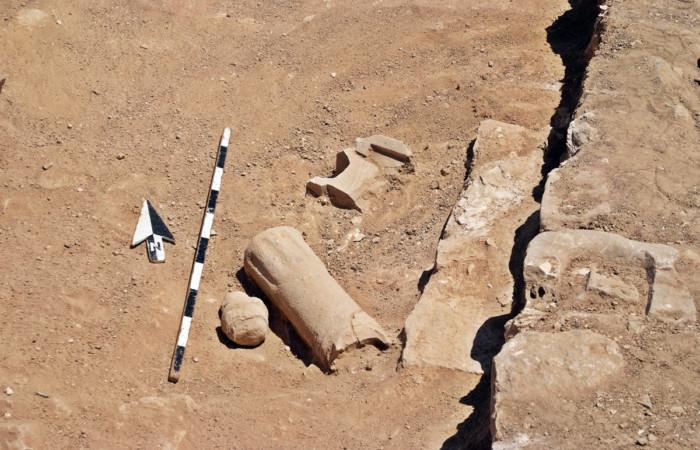 Autel moabite sur lequel ont été retrouvées les inscriptions précitées © Chang-ho Ji