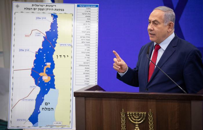 Netanyahu promet d'annexer une partie de la Cisjordanie