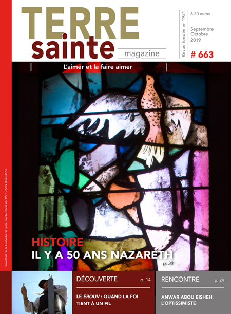 Terre Sainte n. 5/2019 – Sommaire