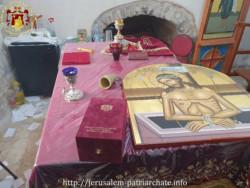 Vol à l'église grecque-orthodoxe Saint Modeste à Jérusalem