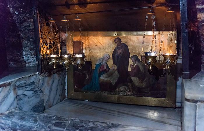 Un fragment du berceau de Jésus revient à Bethléem