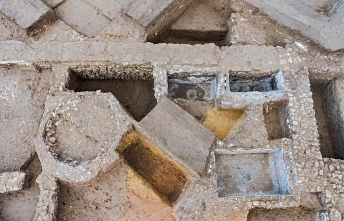 Installations pour la production de Garum près d'Ashkelon (Israël). ©Asaf Peretz, Autorité des Antiquités d'Israël