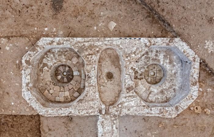 Pressoirs de l'époque byzantine retrouvés près d'Ashkelon (Israël). ©Asaf Peretz, Autorité des Antiquités d'Israël