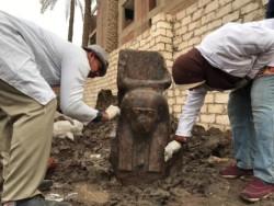 Egypte : « rare » découverte d'un buste de Ramsès II