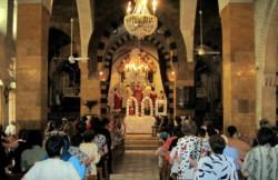 La cathédrale arménienne catholique d'Alep a rouvert
