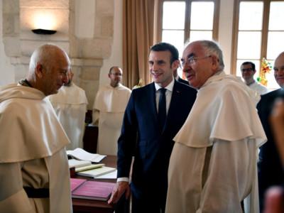 École biblique de Jérusalem: la visite du président français