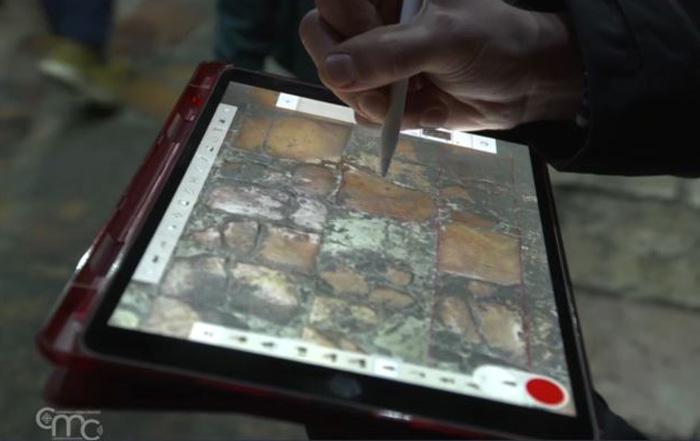 Pierre par pierre: la cartographie du sol de la basilique du Saint-Sépulcre
