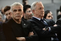 Benny Gantz élu président de la Knesset