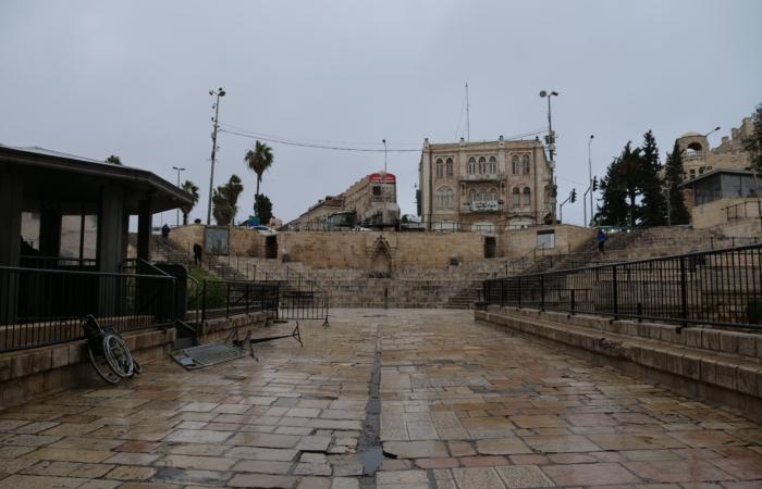 Entrée du quartier musulman de la vieille ville. ©Claire Riobé/TSM