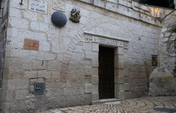 La Via Dolorosa, dans le quartier arabe chrétien. ©Claire Riobé/TSM