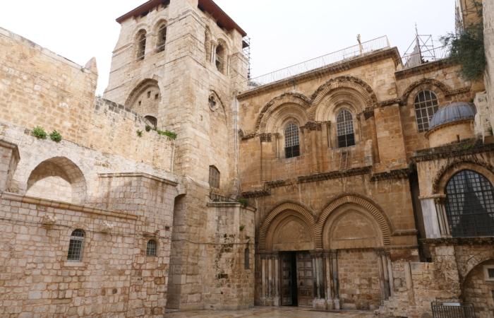 Le Saint-Sépulcre garde ses portes ouvertes. ©Claire Riobé/TSM