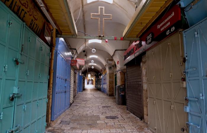Quartier chrétien arabe. ©Claire Riobé/TSM