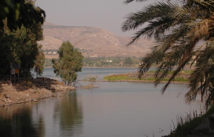 Le lac de Tibériade souffre des sécheresses de la région. Ici, en juillet 2006. ©Yossi Zamir /Flash90