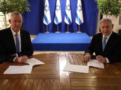 Israël: accord conclu pour un nouveau gouvernement