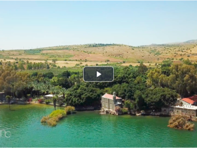 Mer de Galilée. Le lac de Jésus