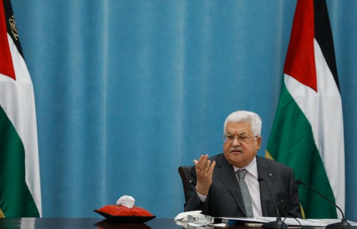 Le président palestinien Mahmoud Abbas s'exprime sur la potentielle annexion de la Cisjordanie lors d'un meeting à Ramallah, en Cisjordanie, le 7 mai 2020. ©Flash90