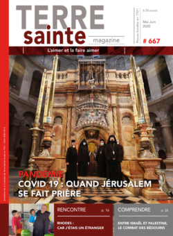Terre Sainte n. 3/2020 – Sommaire