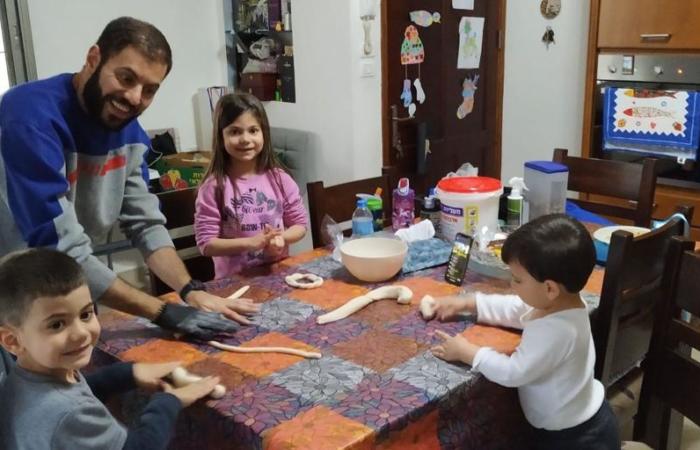 """""""Mon mari a vraiment joué le rôle de mère durant cette période et m'a énormément aidé"""" ©Shady Farraj"""