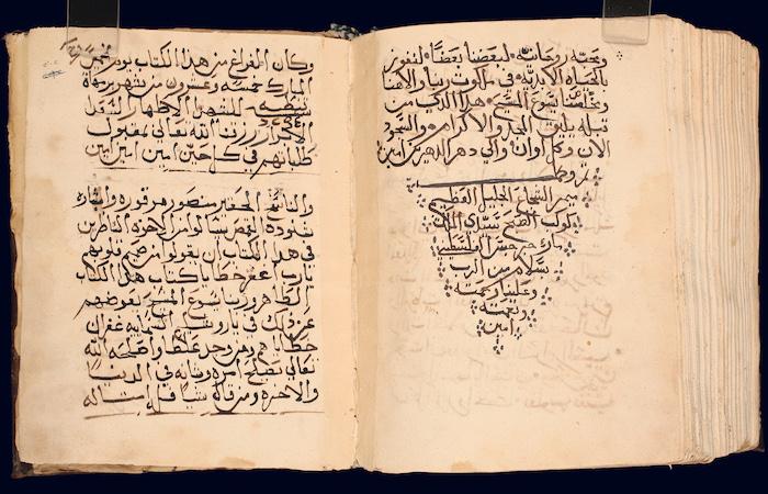 Texte conservé au monastère syrien orthodoxe de Saint-Marc à Jérusalem. Photo © Hmml
