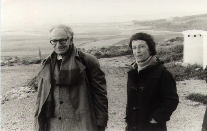 Anne Le Meignen et Bruno Hussar © Archives/ Nevé shalom/Wahat as Salam