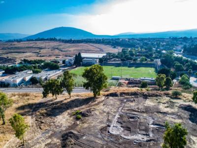 Une église vieille de 1300 ans découverte à Kfar Kama en Galilée