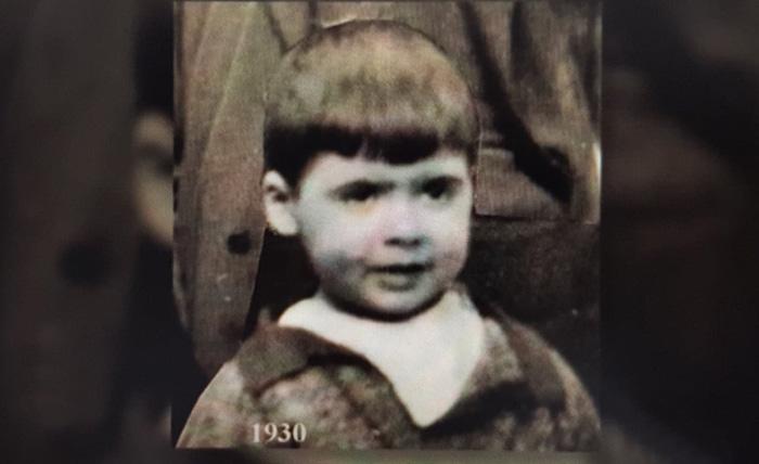Jean Leroy en 1930, il a quatre ans.