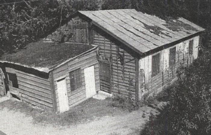 La première maison de la fraternité des Petits frères de Jésus, occupée de 1957 à 1988.