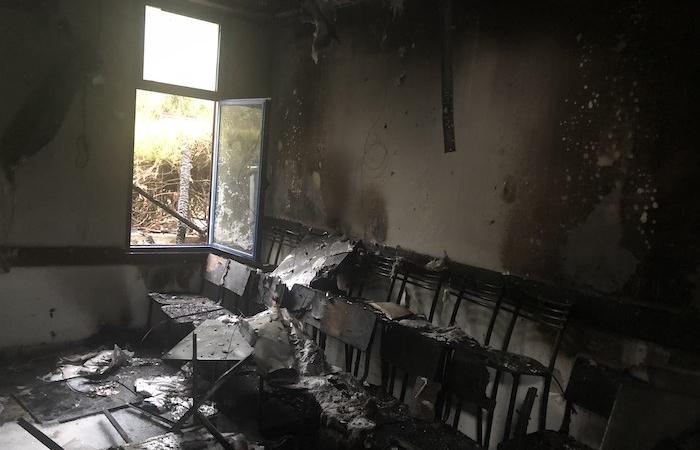 Israël : l'Ecole pour la paix détruite par un incendie