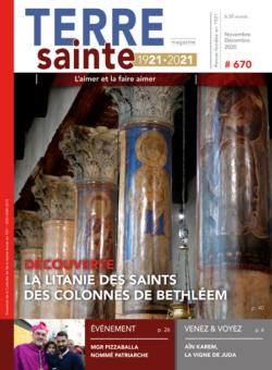 Terre Sainte n. 6/2020 – Sommaire