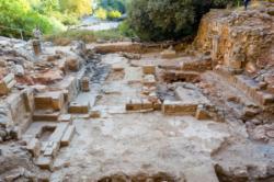 Une église découverte là où Pierre a professé sa foi