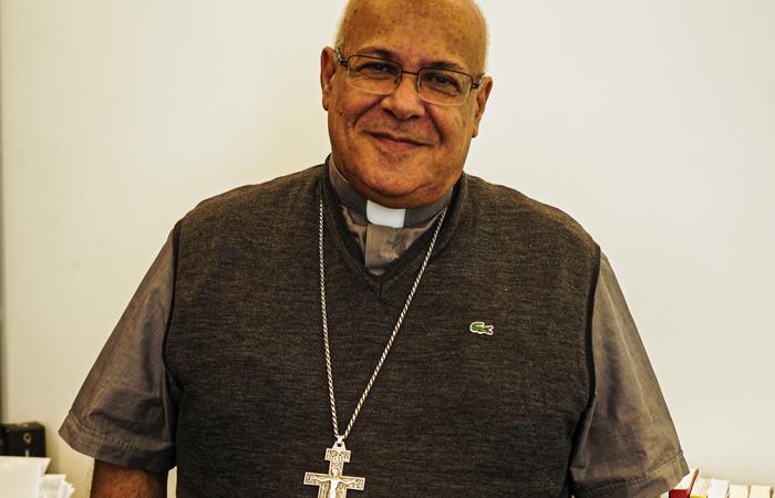 Mgr César Essayan, vicaire apostolique de Beyrouth pour les catholiques de rite romain au Liban. ©Ines Gil