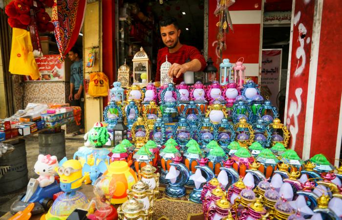 Dernières courses avant le début des festivités du Ramadan à Khan Yunis, dans le sud de la bande de Gaza. 20 avril 2020. Abed Rahim Khatib/Flash90
