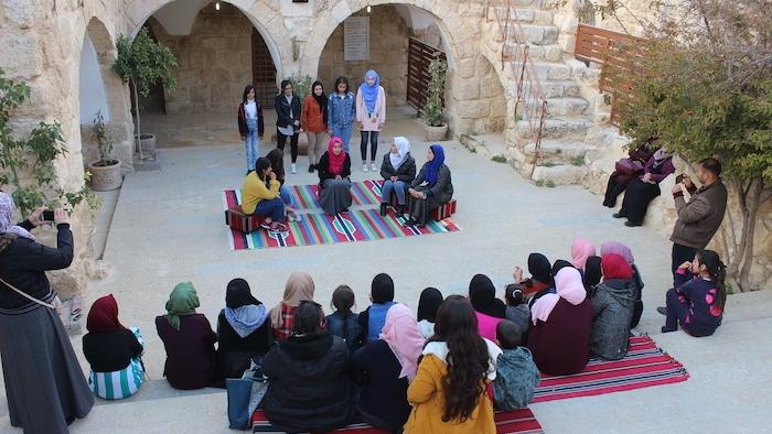 Un atelier de tradition orale promu par Riwaq.