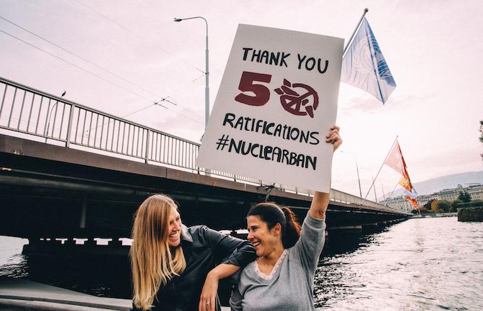 Entrée en vigueur du Traité contre les armes nucléaires