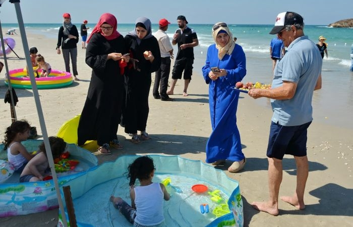 Pour de nombreux Palestiniens, grands et petits, il est difficile de profiter d'une journée à la plage.