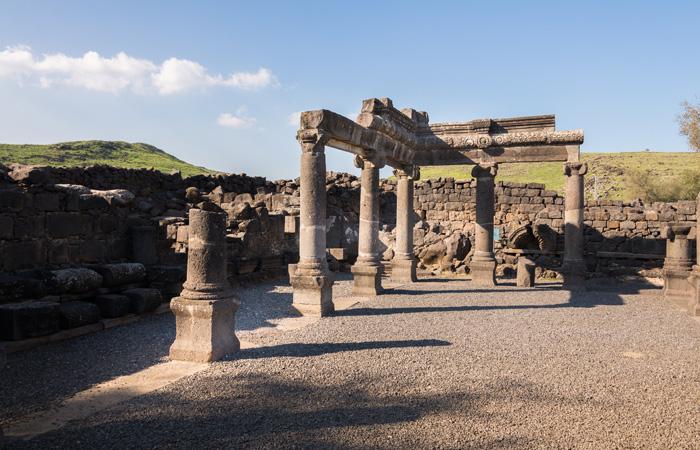 Depuis les ruines de la ville de Corazine, l'appel à la conversion