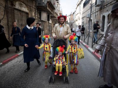 Bientôt Pourim à Jérusalem