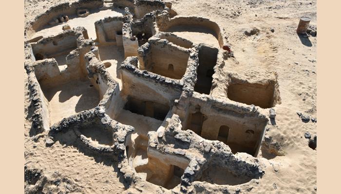 Une autre vue de la structure © Ministère égyptien des Antiquités