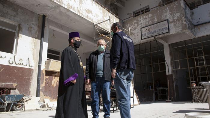 Syrie : les Arméniens veulent relancer la vie sociale à Homs