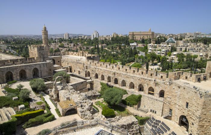 Le complexe de Tour de David, vu depuis les tours ©Ricky Rachman TOD Museum