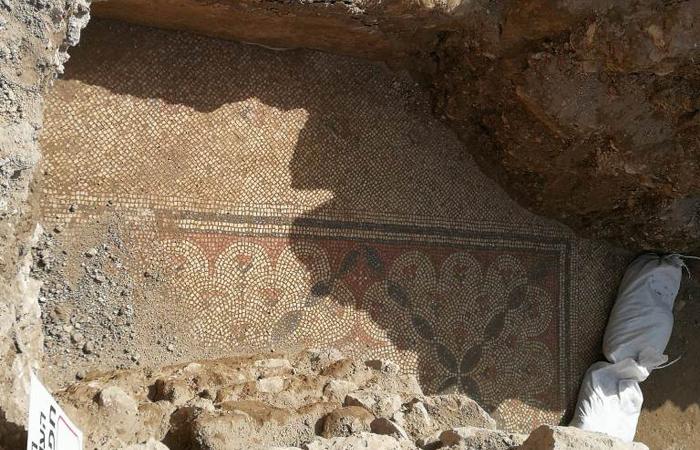 Mosaïques probablement d'époque byzantine © Patriarcat arménien de Jérusalem