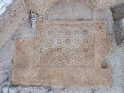Yavné révèle le sol «d'une splendide résidence» byzantine