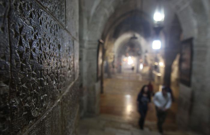Ce que dit la 3D au sujet des croix gravées au Saint-Sépulcre