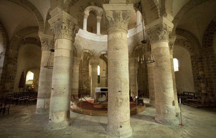 Au cœur de la rotonde se dressait auparavant un reliquaire abritant le Précieux-Sang ©Les amis de la Basilique