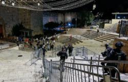 Nuits d'avril agitées à Jérusalem