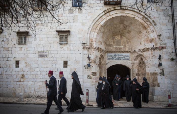 Prêtre agressé à Jérusalem : le Patriarcat arménien réagit