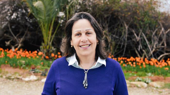 Rita Boulos, première maire arabe de l'Oasis de la Paix