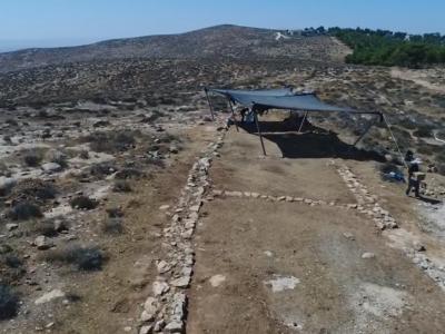 Route romaine au bord du Néguev, l'archéologie ouvre la voie