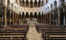 L'église jésuite à Beyrouth renaît après l'explosion de 2020