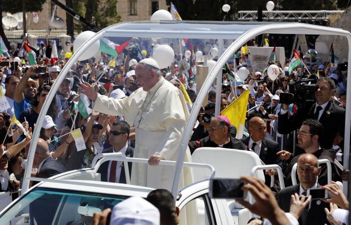 Terre Sainte et Orient plus que jamais dans le cœur du Pape